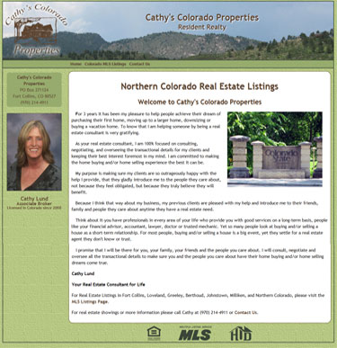 Cathy's Colorado Properties